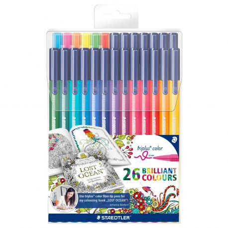 Triplus Colour Set of 26 (Johanna Basford Design)