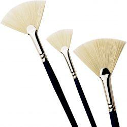 Series C Studio Fan Hog Brushes