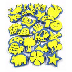 Everyday Foam Stamps Pack of 24