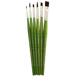 Exclusive Acrylic Brush Set (Made By Da Vinci)
