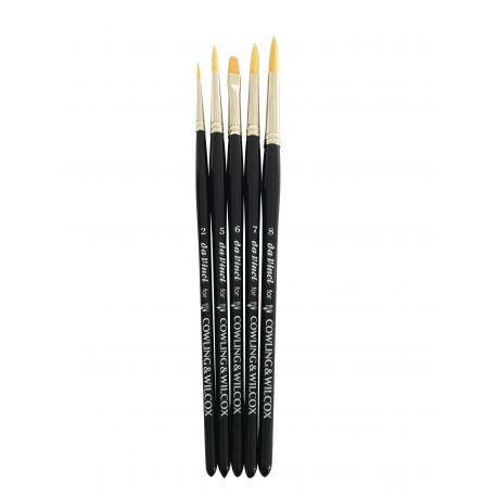 Exclusive Watercolour Brush Set (Made By Da Vinci)