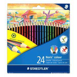 Noris Coloured Pencil Pack of 24 Johanna Basford Design