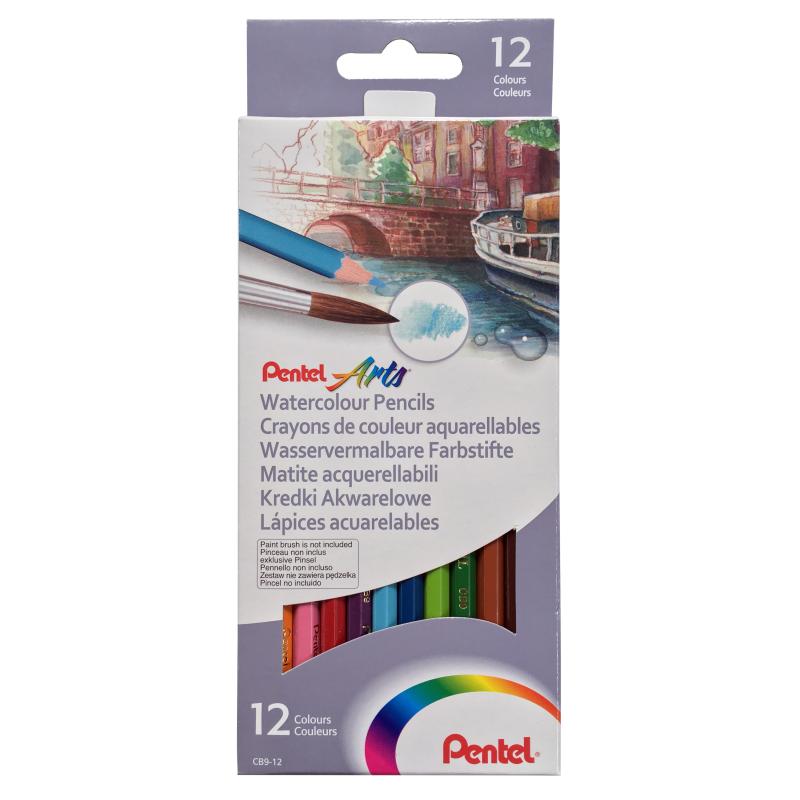 Watercolour Pencil Set of 12