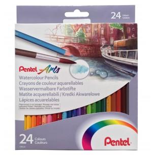 Watercolour Pencil Set of 24