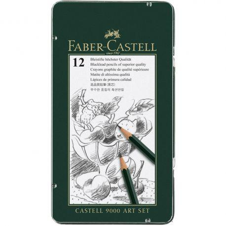 Faber-Castell 9000 Pencils Art Set of 12