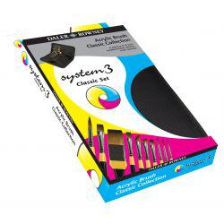 System 3 Acrylic Brush Classic Collection