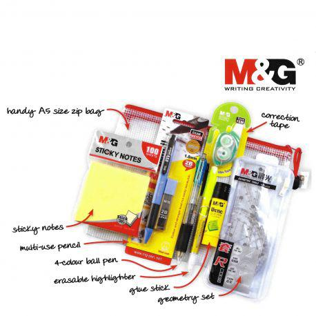 Back To School With M&G Stationery Set