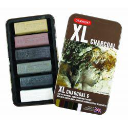 XL Charcoal Tin of 6