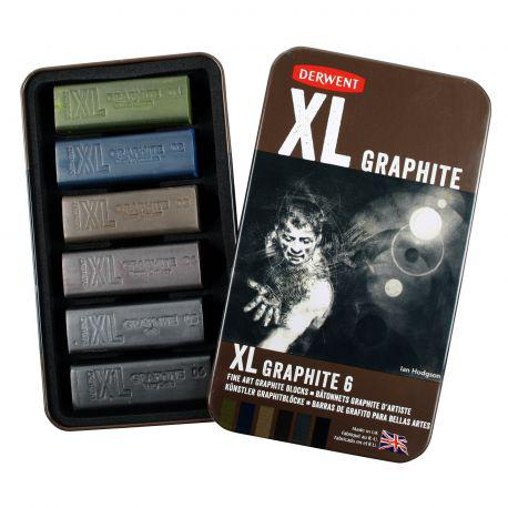 XL Graphite Tin of 6
