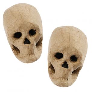 Papier-Mâché Skull
