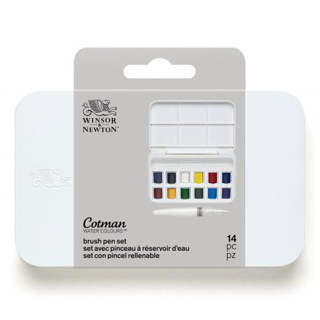 Cotman Water Colour Brush Pen Set
