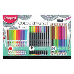 33-Piece Colouring Set