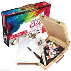 Graduate Oil Box Easel Set