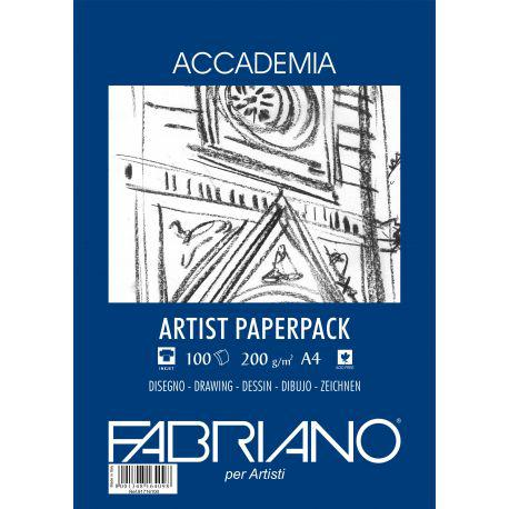 Fabriano Artist Paper Pack 200gsm A4