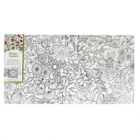 Johanna Basford 12 X 24 Colouring Canvas Secret Garden