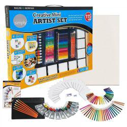 Simply Creative Mini Artist Set (115-Pcs)