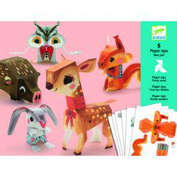 Paper Toys Pretty Wood