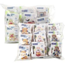 EasyKit Felt Friends, assortment, 18sets.