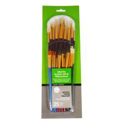 Simply 25-Piece Artists Choice Value Brush Set