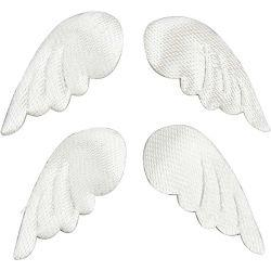 Fabric Wings, W: 27 mm, 100pcs.