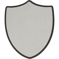 Shield, size 30x35,5 cm, thickness 1,5 cm, grey, 5pcs.