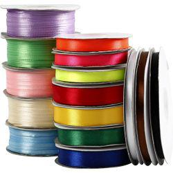 Satin Ribbon - Assortment, asstd colours, 15rolls.