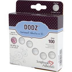 3L Dodz Adhesive Dots 3D, D: 12 mm, thickness 2 mm, large, 100pcs.