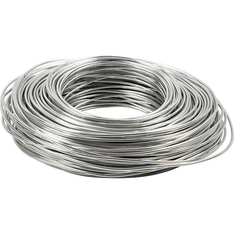 Aluminium wire thickness 25 mm silver round 75m cowling aluminium wire thickness 25 mm silver round 75m loading zoom keyboard keysfo Image collections