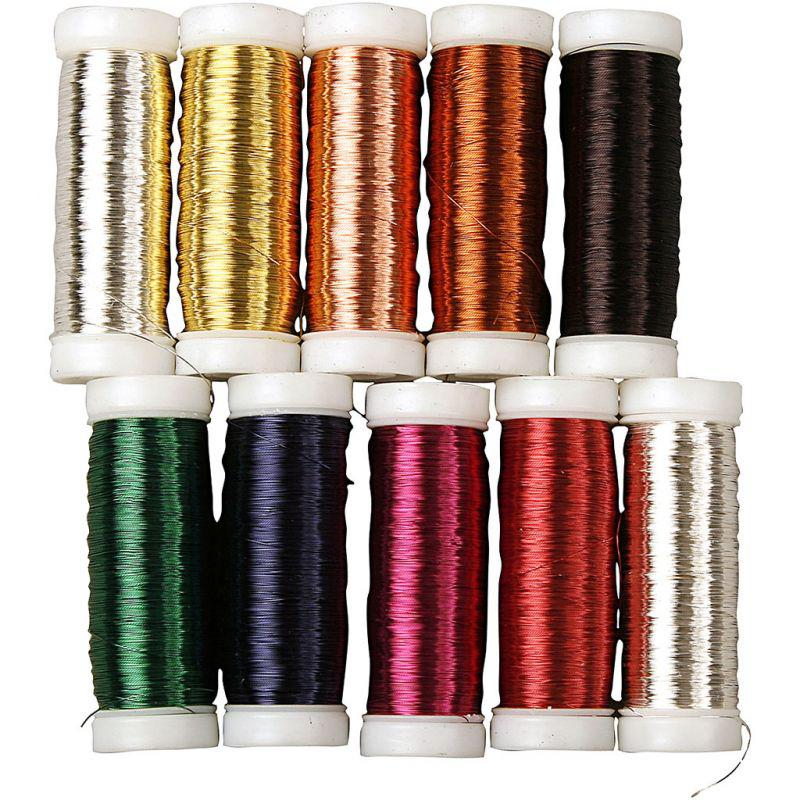 Floral wire thickness 018 mm approx 10x125 m 10x50g cowling floral wire thickness 018 mm approx 10x125 m 10x50g greentooth Choice Image