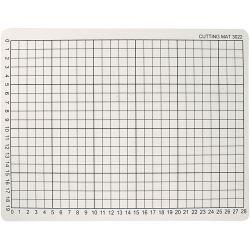Cutting Mat, size 22x30 cm, thickness 3 mm, 1pc.