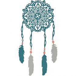 Sizzix Sizzix Die, size 0,32x0,32 - 7,62x7,62 cm, dream catcher, 1pc,.