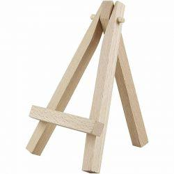 Mini Easel, H: 12 cm, birch, 10pcs.