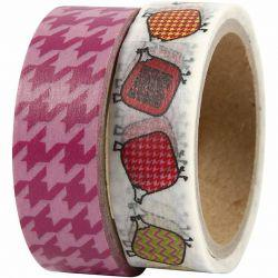 Vivi Gade Design Washi Tape, W: 15 mm, Helsinki, 2x5m.