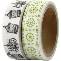 Vivi Gade Design Washi Tape, W: 15 mm, London, 2x5m.