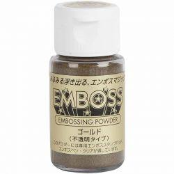 Embossing Powder, gold, 30ml.