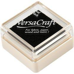 Stamp Pad, size 24x24 mm, real black, 1pc.
