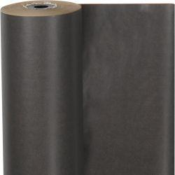 Wrapping paper, W: 50 cm,  60 g, dark grey, 100m.
