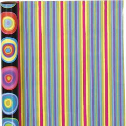 Wrapping paper, W: 50 cm, 80 g, Circles, 5m.