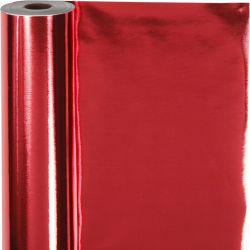 Wrapping paper, W: 50 cm,  65 g, red, 100m.