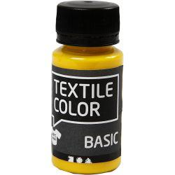 Textile Color, primary yellow, 50ml.