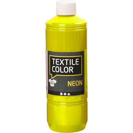 Textile Color, neon yellow, 500ml.