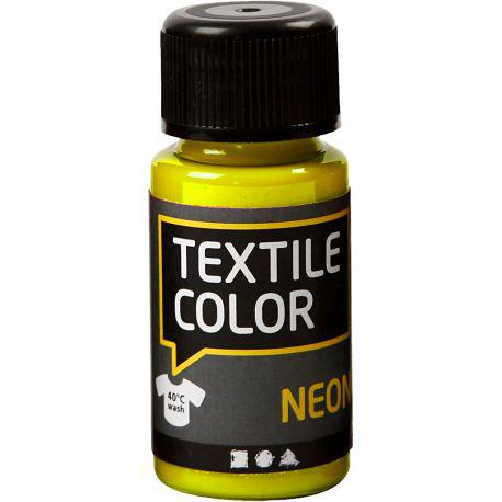 Textile Color, neon yellow, 50ml.