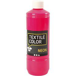Textile Color, neon pink, 500ml.