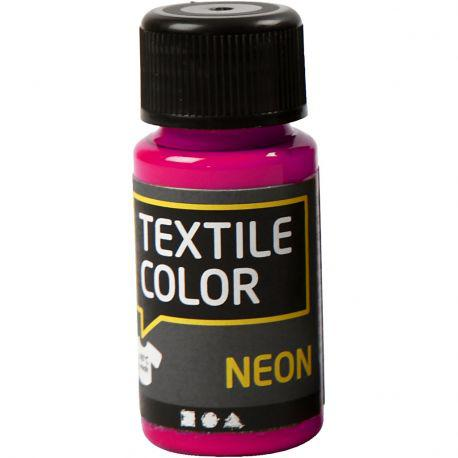 Textile Color, neon pink, 50ml.