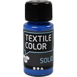 Textile Solid, brilliant blue, Opaque, 50ml.