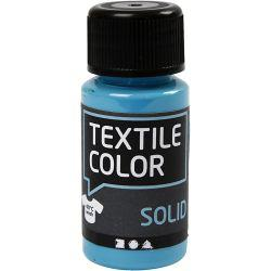 Textile Solid, turquoise blue, Opaque, 50ml.