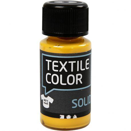 Textile Solid, yellow, Opaque, 50ml.