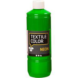 Textile Color, neon green, 500ml.
