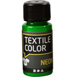 Textile Color, neon green, 50ml.