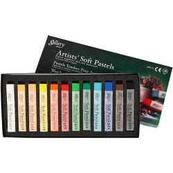 Gallery Soft Pastel Set, thickness 1 cm, L: 6,5 cm, asstd colours, 12pcs.
